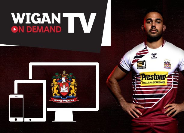 Wigan TV Login - Web Banner Image